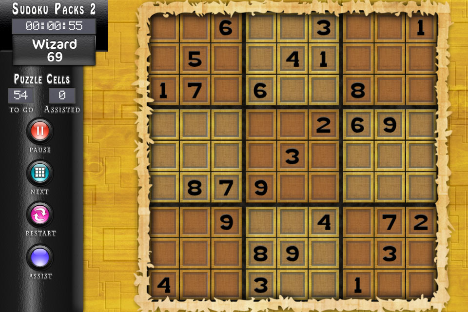 Sudoku HD Blocks Theme