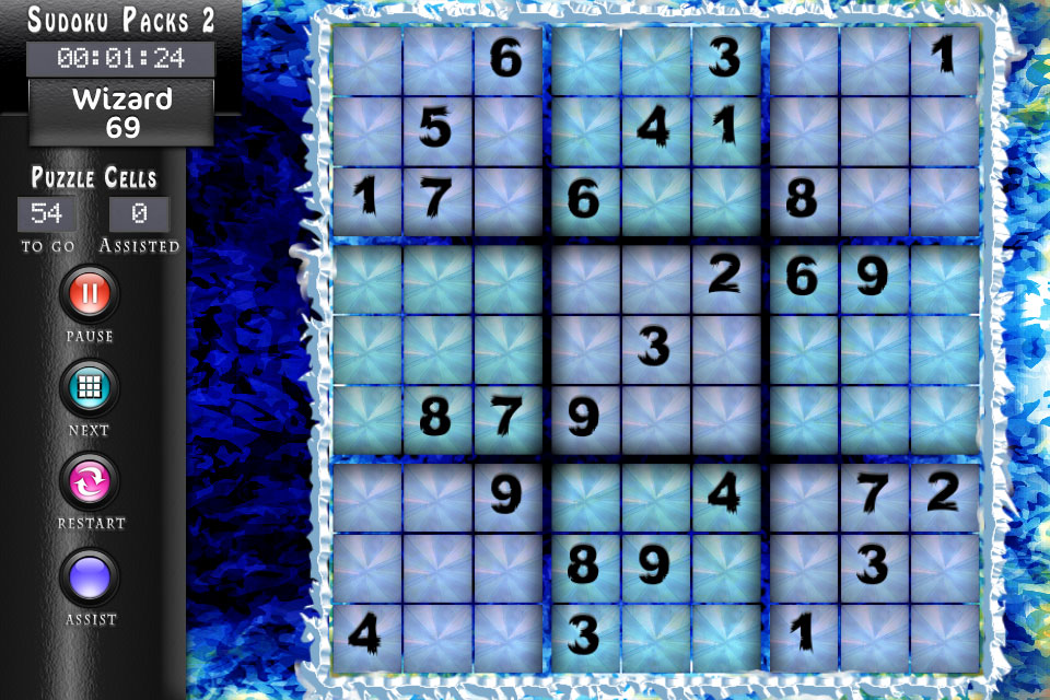 Sudoku HD Ice Theme