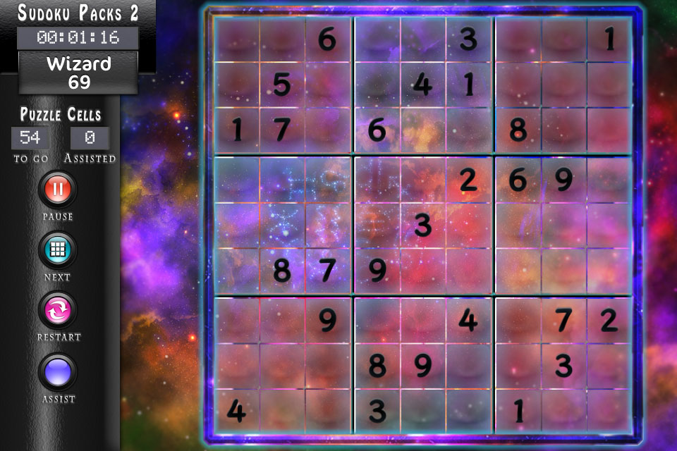Sudoku HD Space Theme